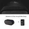Remax RB M11 Fabric Bluetooth Speaker 4