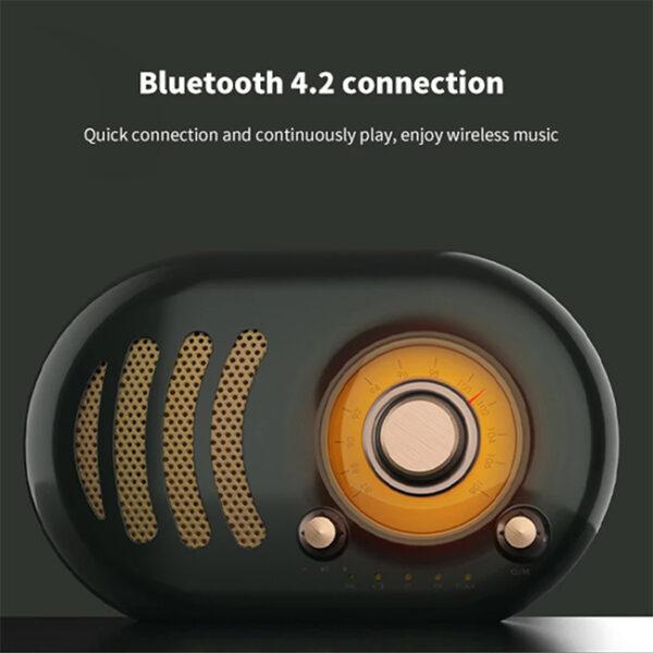 Remax RB M31 Mini Wireless Retro Bluetooth Speaker 1