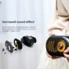 Remax RB M31 Mini Wireless Retro Bluetooth Speaker 4