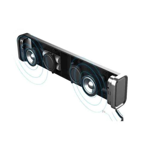 Remax RB M33 Fabric Series Bluetooth Speaker 2