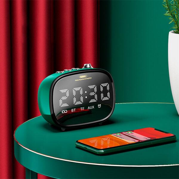 Remax RB M52 Alarm Bluetooth Speaker 3