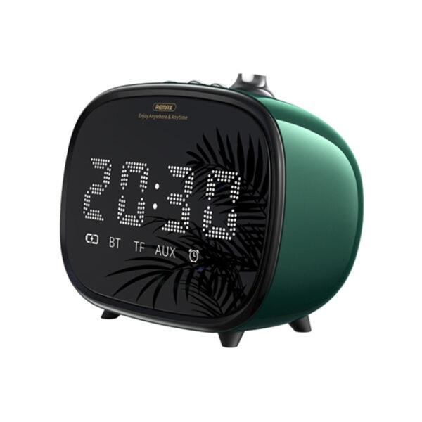 Remax RB M52 Alarm Bluetooth Speaker Green