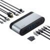 Baseus Working Station Four-Screen Multifunctional Type-C Hub Adapter price in sri lanka buy online at cyberdeals.lk
