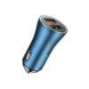 Baseus Golden Contactor Pro 40W Dual USB Port Quick Car Charger
