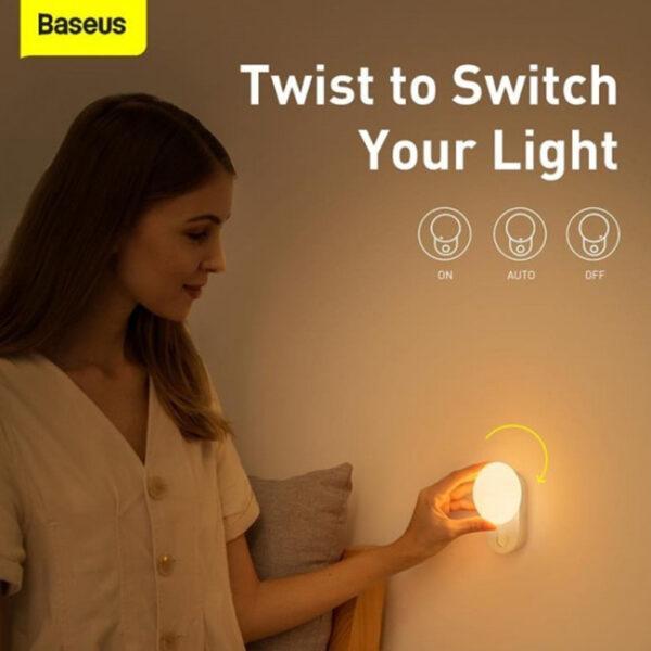 Baseus Sunlight Series Full Moon Induction Night Light 1