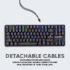 Low Profile Mechanical Gaming Keyboard 03